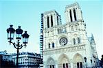 Notre Dame Cathedral Paris, France    Stock Photo - Premium Rights-Managed, Artist: Puzant Apkarian, Code: 700-00097349