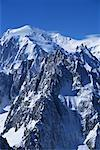 Aiguille du Midi Mont Blanc Region Chamonix, France    Stock Photo - Premium Rights-Managed, Artist: Pete Webb, Code: 700-00097405