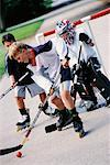 Street Hockey    Stock Photo - Premium Rights-Managed, Artist: Kevin Dodge, Code: 700-00097977