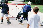 Street Hockey    Stock Photo - Premium Rights-Managed, Artist: Kevin Dodge, Code: 700-00097981