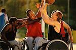 Wheelchair Basketball    Stock Photo - Premium Rights-Managed, Artist: Tim Pannell, Code: 700-00098191