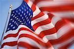 American Flag    Stock Photo - Premium Rights-Managed, Artist: Tom Collicott, Code: 700-00098391