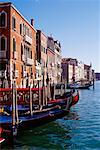 Gondolas Venice, Italy    Stock Photo - Premium Rights-Managed, Artist: Ed Gifford, Code: 700-00099231
