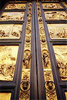 Cathedral Doors Florence, Italy    Stock Photo - Premium Rights-Managednull, Code: 700-00099247