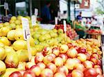 Fruit Stand    Stock Photo - Premium Rights-Managed, Artist: Janet Bailey, Code: 700-00099655
