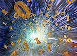 Digital Explosion    Stock Photo - Premium Rights-Managed, Artist: Rick Fischer, Code: 700-00150517
