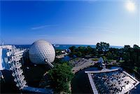 Skydeck and Cinesphere Ontario Place Toronto, Ontario, Canada    Stock Photo - Premium Rights-Managednull, Code: 700-00152094