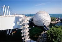 Cinesphere and Skydeck Toronto, Ontario, Canada    Stock Photo - Premium Rights-Managednull, Code: 700-00152095
