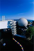 Cinesphere and Skydeck Ontario Place Toronto, Ontario, Canada    Stock Photo - Premium Rights-Managednull, Code: 700-00152096