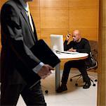 Man Working in Office    Stock Photo - Premium Rights-Managed, Artist: Dan Lim, Code: 700-00153189