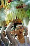 Balinease Woman in Procession During Galunggan, Bali, Indonesia    Stock Photo - Premium Rights-Managed, Artist: Carl Valiquet, Code: 700-00153577