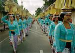 Balinease Women in Procession During Galunggan, Bali, Indonesia    Stock Photo - Premium Rights-Managed, Artist: Carl Valiquet, Code: 700-00153579