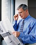 Mature Businessman    Stock Photo - Premium Rights-Managed, Artist: Jennifer Burrell, Code: 700-00154350