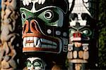 Totem Poles    Stock Photo - Premium Rights-Managed, Artist: J. A. Kraulis, Code: 700-00155515