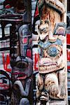 Totem Poles    Stock Photo - Premium Rights-Managed, Artist: Dale Sanders, Code: 700-00155554