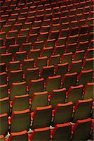 Empty Seats Place des Arts, Montreal, Quebec    Stock Photo - Premium Rights-Managednull, Code: 700-00155589