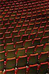 Empty Seats Place des Arts, Montreal, Quebec    Stock Photo - Premium Rights-Managed, Artist: Roland Weber, Code: 700-00155589