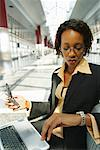 Businesswoman Out of Office    Stock Photo - Premium Rights-Managed, Artist: Brian Pieters, Code: 700-00158005