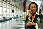 Businesswoman on PCS Phone    Stock Photo - Premium Rights-Managed, Artist: Brian Pieters, Code: 700-00158007