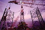 Offshore Oil Production    Stock Photo - Premium Rights-Managed, Artist: R. Ian Lloyd, Code: 700-00159145