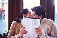 restaurant new york manhattan - Couple in a Cafe Soho, New York, USA    Stock Photo - Premium Rights-Managednull, Code: 700-00160944