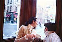 restaurant new york manhattan - Couple in a Cafe Soho, New York, USA    Stock Photo - Premium Rights-Managednull, Code: 700-00160946