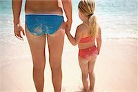 Two Girls at the Beach    Stock Photo - Premium Rights-Managednull, Code: 700-00160955