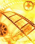 Abstract of Film and Film Reels    Stock Photo - Premium Rights-Managed, Artist: Ken Davies, Code: 700-00160977