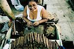 Woman Rolling Cigars in Cuba    Stock Photo - Premium Rights-Managed, Artist: Bruce Fleming, Code: 700-00161097