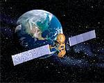 Satellite    Stock Photo - Premium Rights-Managed, Artist: Rick Fischer, Code: 700-00162363