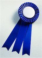 Blue Ribbon    Stock Photo - Premium Rights-Managednull, Code: 700-00163335