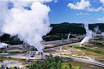 Geothermal Power Station Wariakei, New Zealand    Stock Photo - Premium Rights-Managed, Artist: dk & dennie cody, Code: 700-00164087