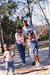 Family at Playground