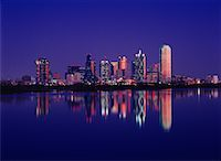 City Skyline Dallas, Texas    Stock Photo - Premium Rights-Managednull, Code: 700-00165811
