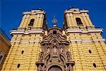 Church of San Francisco Lima, Peru    Stock Photo - Premium Rights-Managed, Artist: Jeremy Woodhouse, Code: 700-00165975