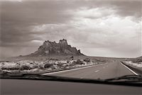 Rock Formation from Car Interior New Mexico    Stock Photo - Premium Rights-Managednull, Code: 700-00167915