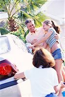 Family Washing Car    Stock Photo - Premium Rights-Managednull, Code: 700-00168085