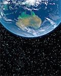 Australia from Outer Space    Stock Photo - Premium Rights-Managed, Artist: Imtek Imagineering, Code: 700-00168265