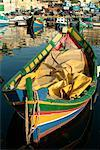 Boat in Harbor Mgarr, Gozo, Malta    Stock Photo - Premium Rights-Managed, Artist: Peter Christopher, Code: 700-00168395