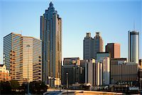 Atlanta Skyline    Stock Photo - Premium Rights-Managednull, Code: 700-00168783