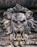 Lion Sculpture    Stock Photo - Premium Rights-Managednull, Code: 700-00169463