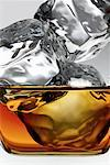 Liquor with Ice    Stock Photo - Premium Rights-Managed, Artist: Keate, Code: 700-00169626