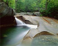 peter griffith - The Basin, Pemigewasset River, Franconia Notch State Park, New Hampshire, USA    Stock Photo - Premium Royalty-Freenull, Code: 600-00171107