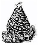 Illustration of a Christmas Tree    Stock Photo - Premium Royalty-Free, Artist: James Wardell, Code: 600-00177088