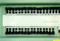 Close-Up of Electrical Box    Stock Photo - Premium Royalty-Freenull, Code: 600-00177425