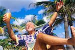 Man on Vacation    Stock Photo - Premium Rights-Managed, Artist: George Shelley, Code: 700-00178617
