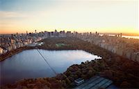 david zimmerman - Cityscape and Jackie Onassis Reservoir New York, New York, USA    Stock Photo - Premium Rights-Managednull, Code: 700-00178810