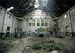 Abandoned Warehouse    Stock Photo - Premium Rights-Managed, Artist: TSUYOI, Code: 700-00181479