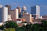 City Skyline Oklahoma City, Oklahoma, USA    Stock Photo - Premium Rights-Managed, Artist: Jeremy Woodhouse, Code: 700-00181539
