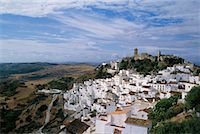 Small Town on Mountain Casares, Andalucia Spain    Stock Photo - Premium Rights-Managednull, Code: 700-00182005